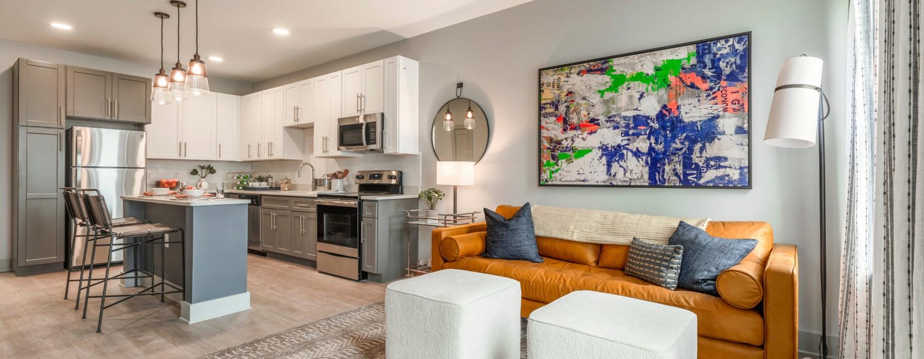 Delwyn Model Unit - Living Room